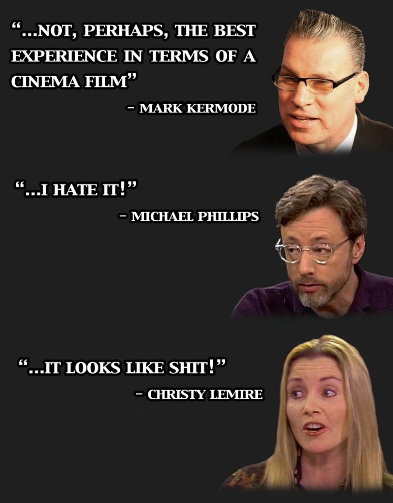 Critics opinions