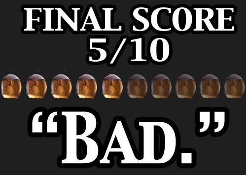 Oblivion Final Score