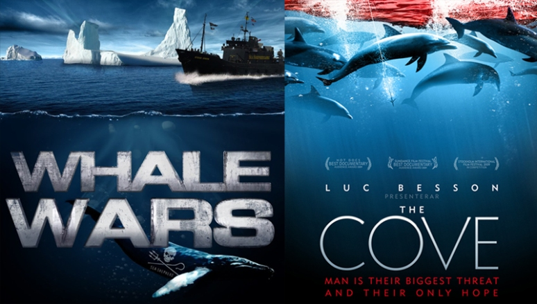 Whale Wars and The Cove