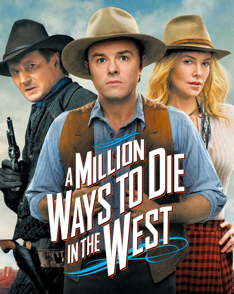 A Millon Ways to Die in the West poster