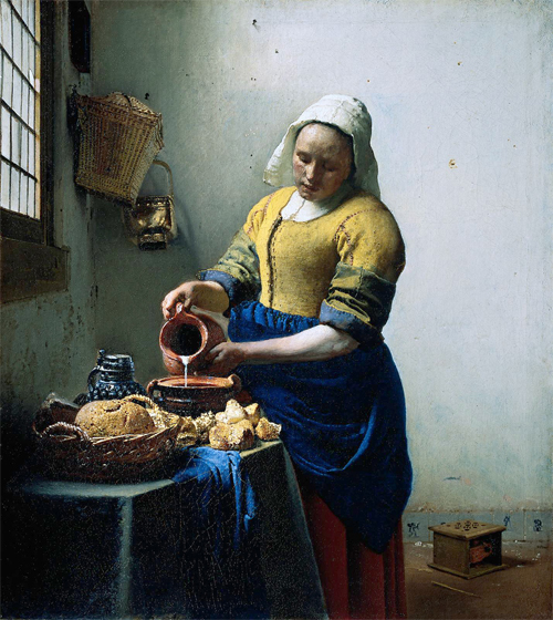 Vermeer's the kitchen maid