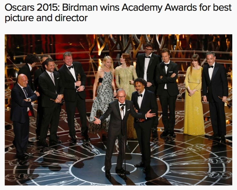 Birdman wins