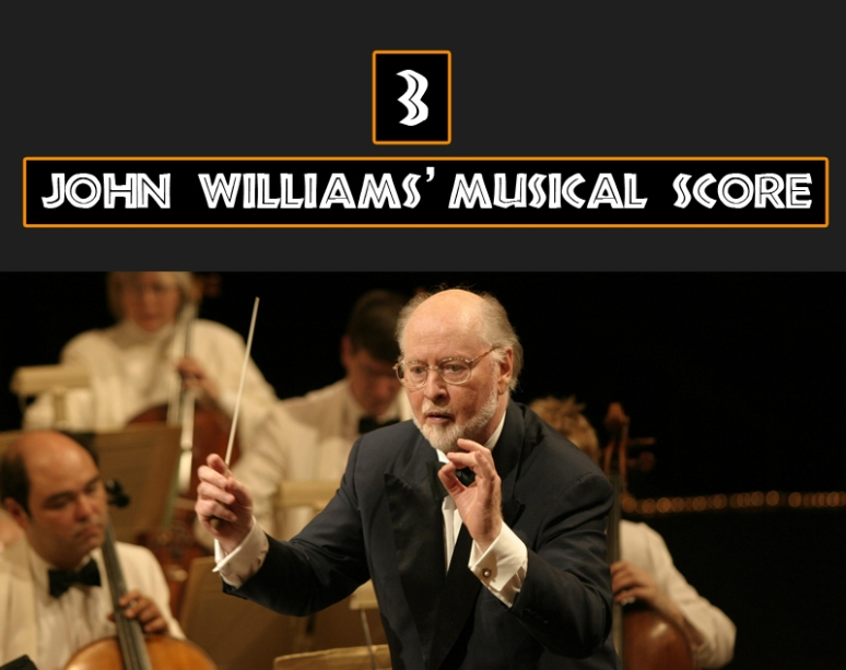 John Williams' musical score