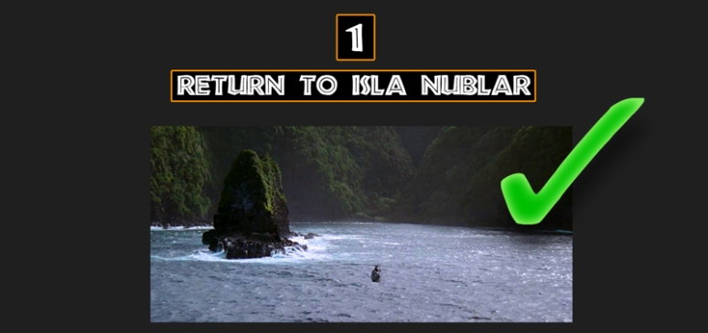 Return to Isla Nublar